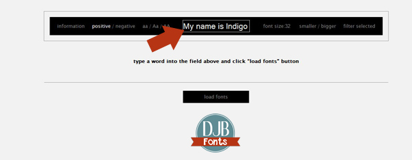 Wouldn't you love to be able to preview what text looks like by every single one of your fonts all at one time instead of picking and choosing? Well, you can!