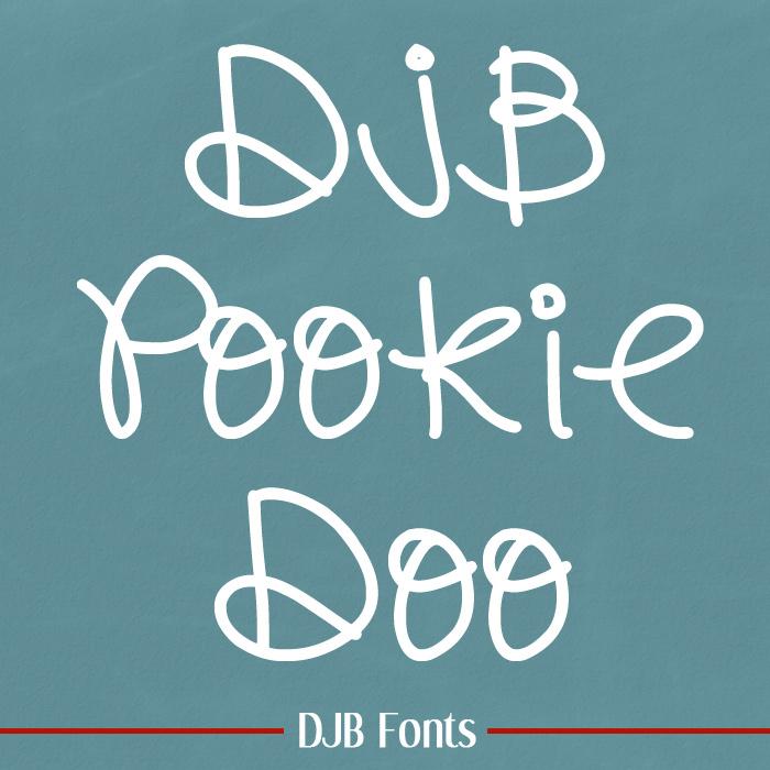 DJB Pookie Doo Font