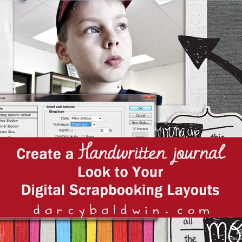 Create A Handwritten Feel On Your Digital Layouts