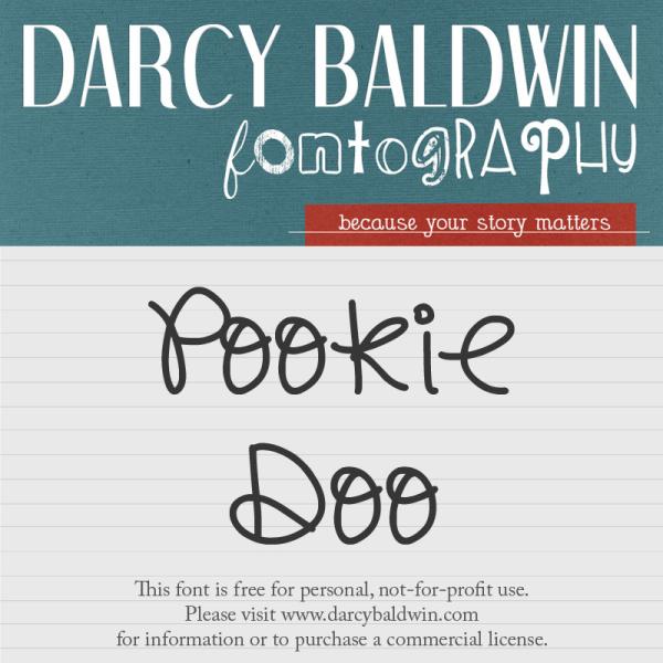 Free Font Friday @ Darcybaldwin.com