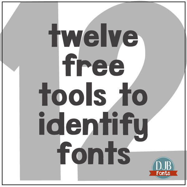 12 Free Font Identification Tools at DarcyBaldwin.com Find the name of that perfect font!