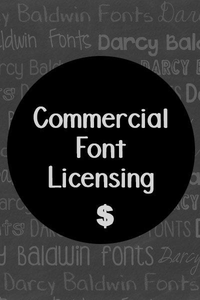 Commercial Use Font License