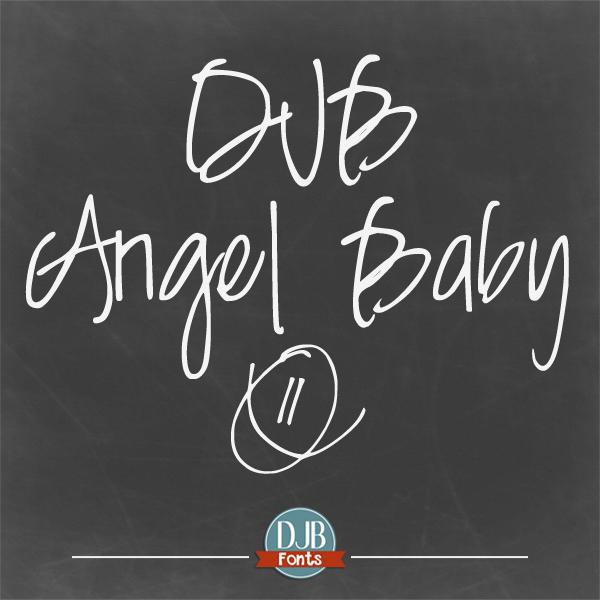 DJB Angel Baby Font