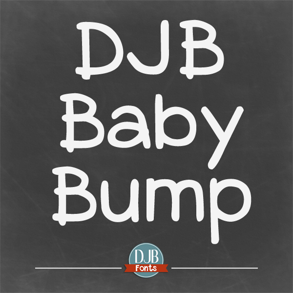 DJB Baby Bump Font
