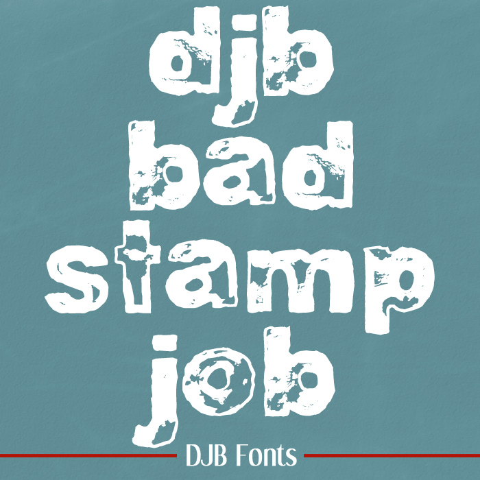 DJB Bad Stamp Job