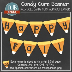Customize this Fall Banner Printable to have your own phrase to decorate your home or classroom.