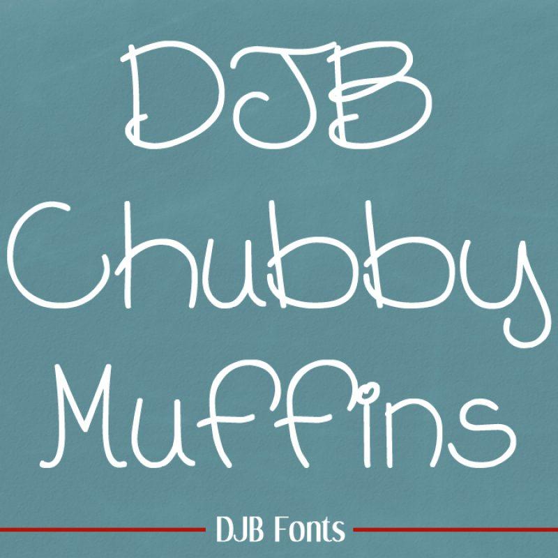 DJB Chubby Muffins Font