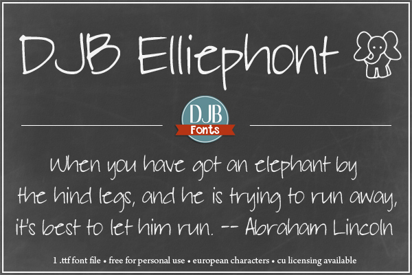 Never forget a thing when you journal with Elliephont! And did you see that cute little elliephont??
