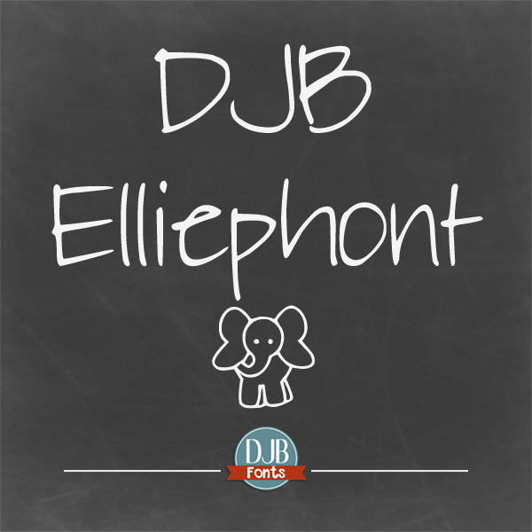 DJB Elliephont Font