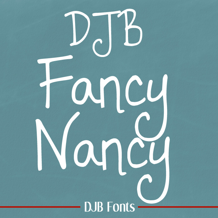 DJB Fancy Nancy Font