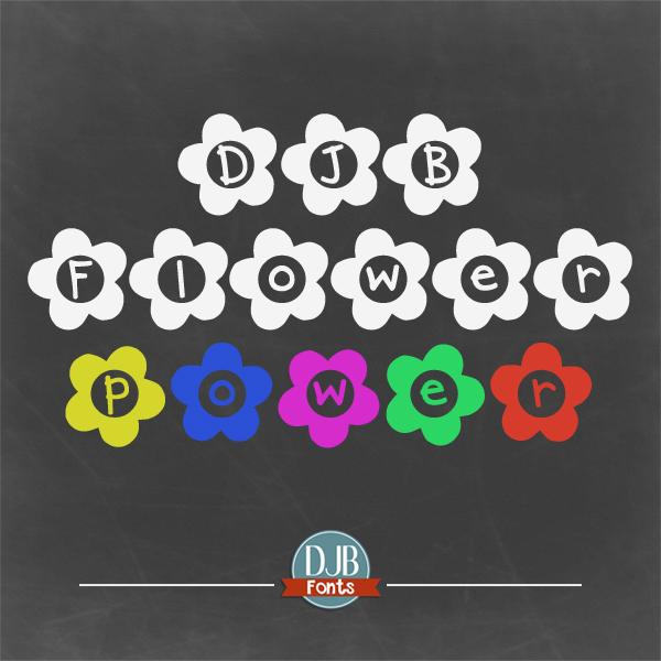 DJB Flower Power Font