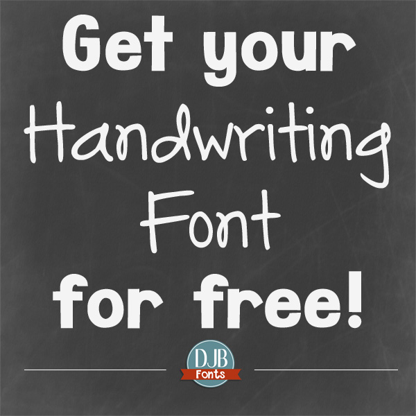 Get Your Own Font for Free!