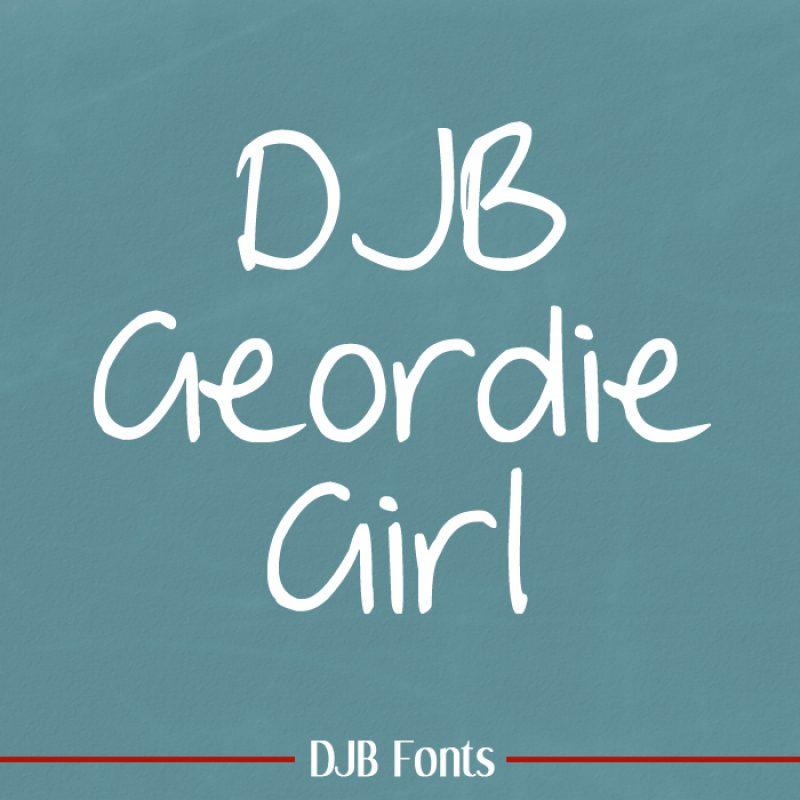 DJB Geordie Girl Font