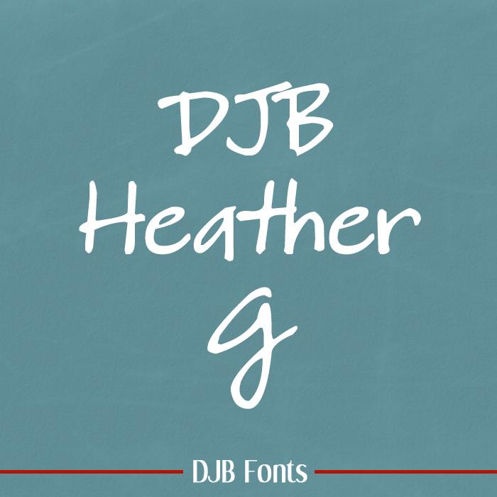 DJB HeatherG Font