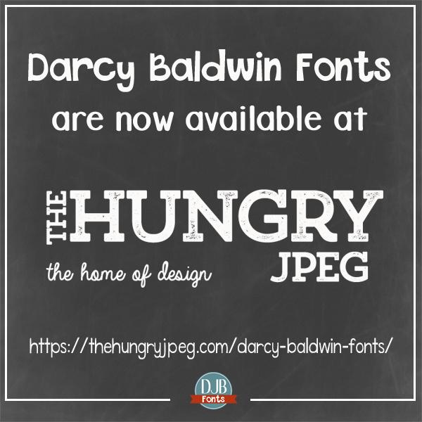 DJB Fonts @ Hungry JPEG