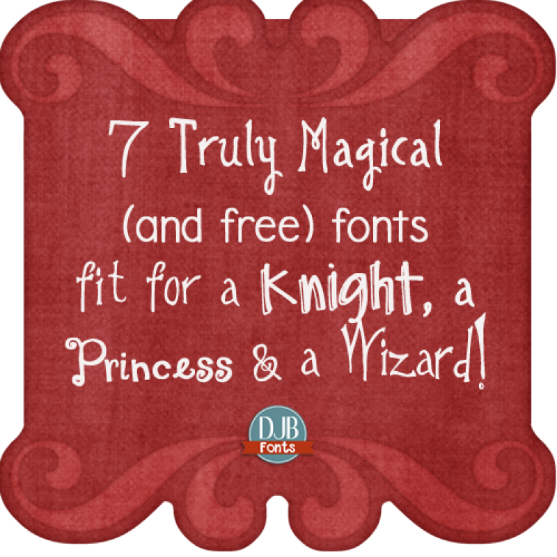7 Truly Magical Free Fonts