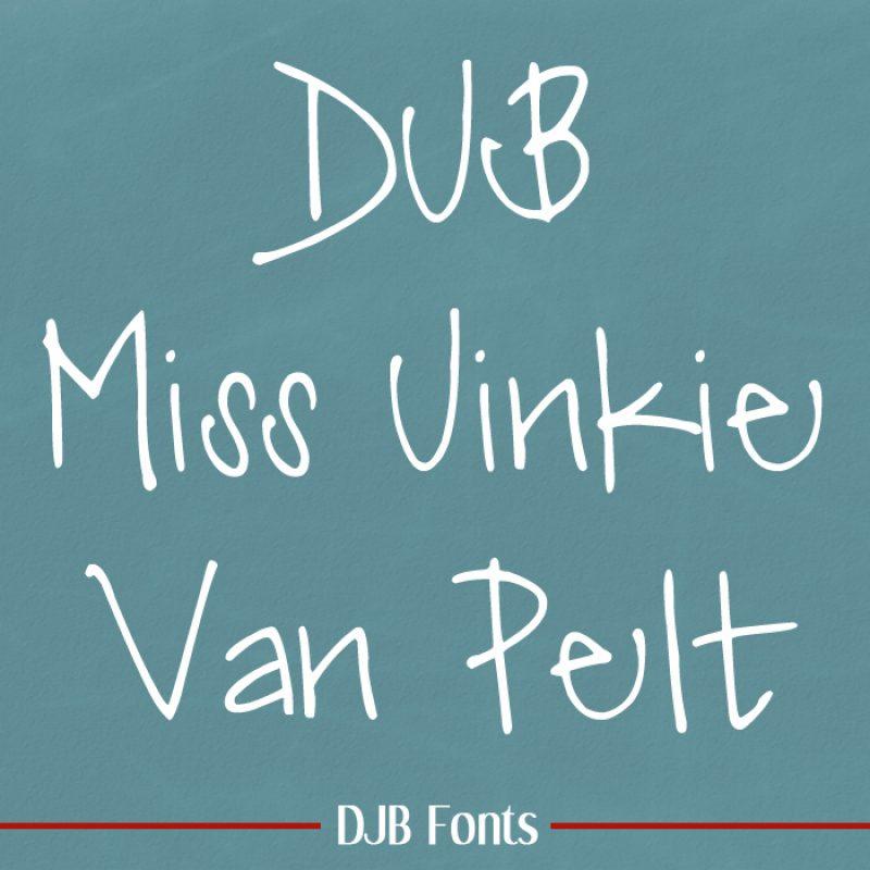 DJB Miss Jinkie Van Pelt