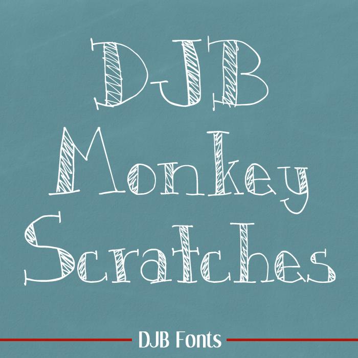 DJB Monkey Skratches
