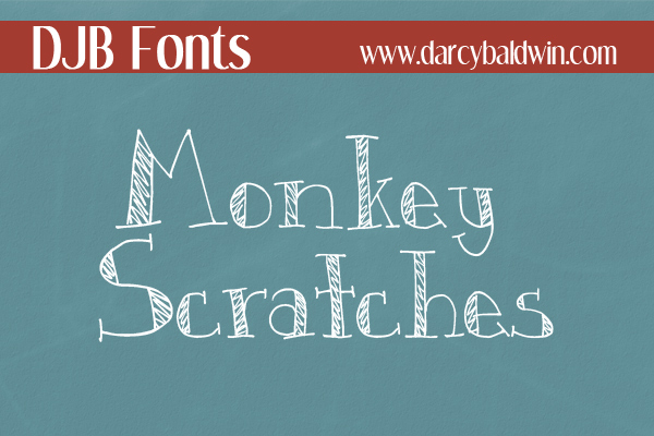 Scribbled or chalkboard font from DJB Fonts. Free for Personal use, commercial/professional licensing available.