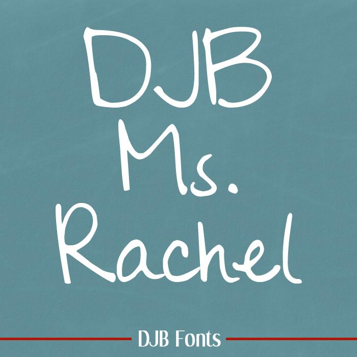 DJB Ms. Rachel Font