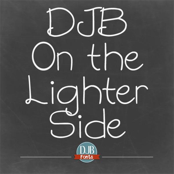 On the Lighter Side Font