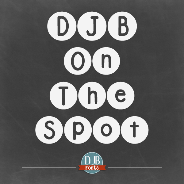 DJB On the Spot Font