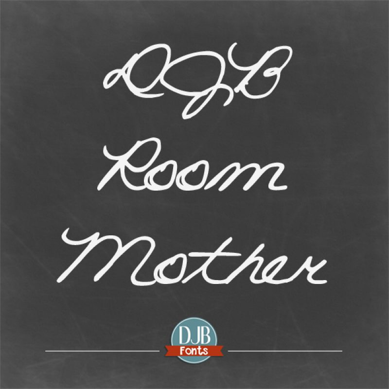 DJB Room Mother Font