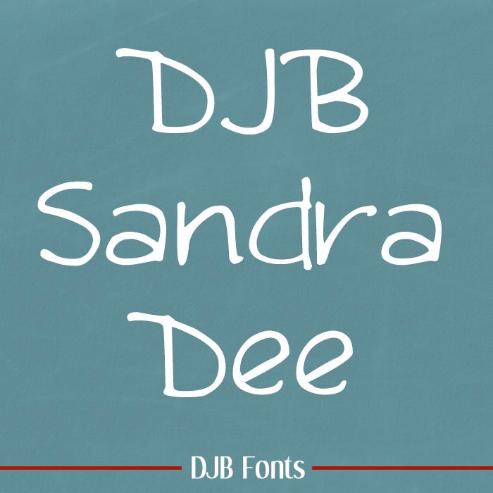 DJB Sandra Dee Font