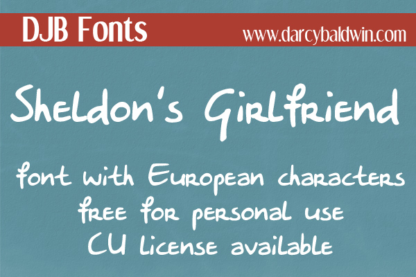 FREE FONT FRIDAY from Darcy Baldwin {fontography}. This free for personal use font is a great 'nerdy' print! A commercial license is available through the site.