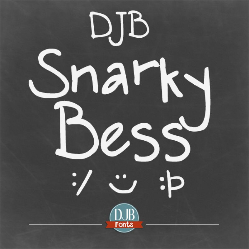 DJB Snarky Bess Font