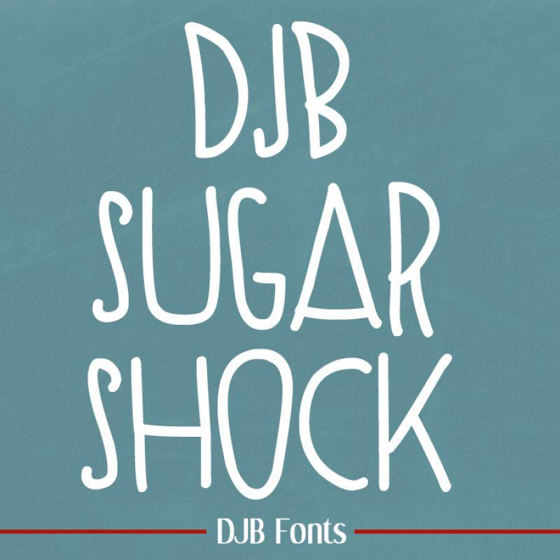 DJB Sugar Shock Font