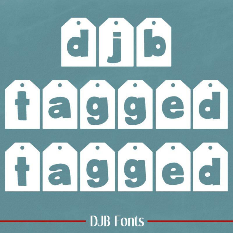 DJB Tagged Fonts