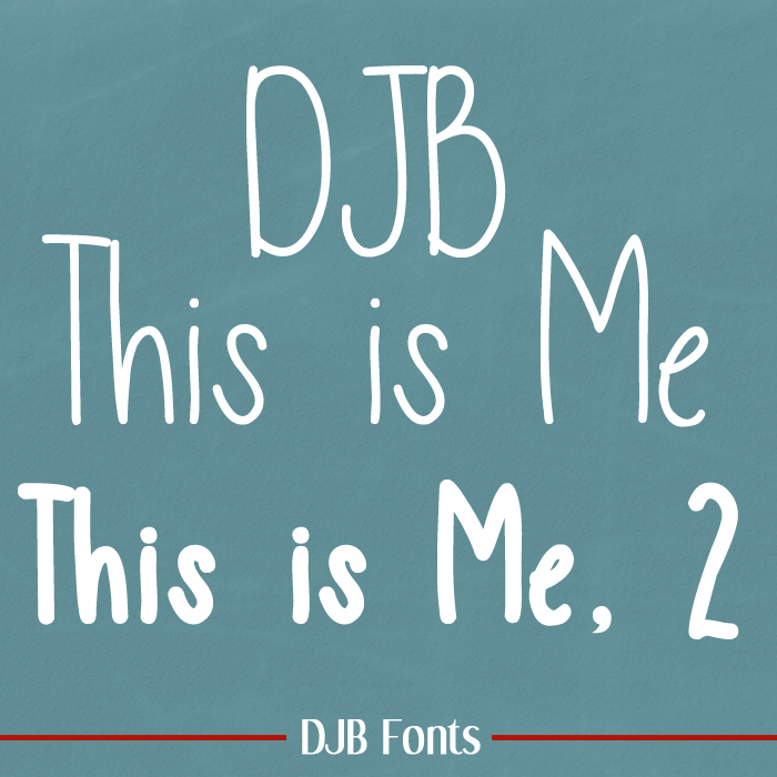 DJB This is Me Font