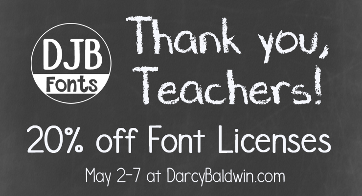 Teacher Appreciation Sale