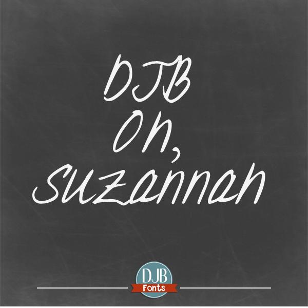 DJB Oh Suzannah Font