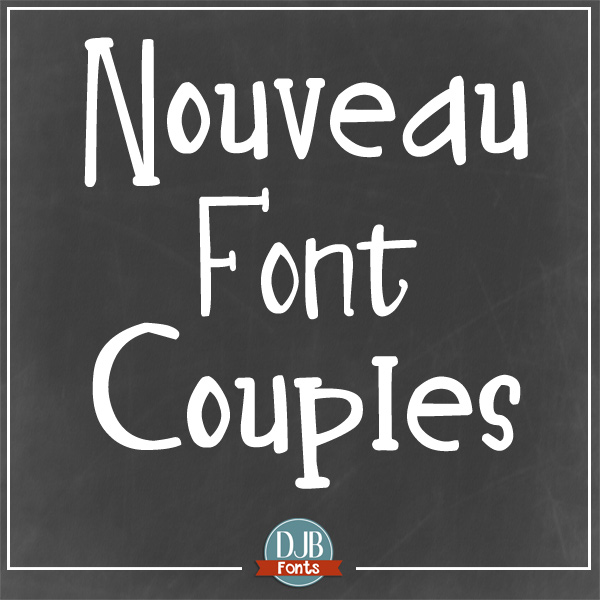 DJB Nouveau Font Family